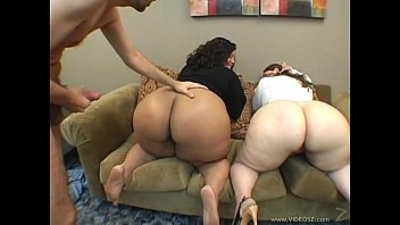 Threesome porn of different kinds: FFM, MMF, and FFF