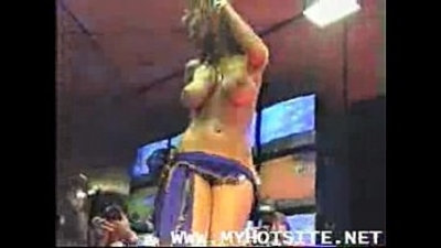 big boobs  brunette  dancing  public