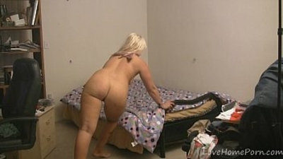 ass  big ass  blonde  striptease