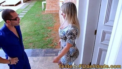 blonde  blowjob  brazilian