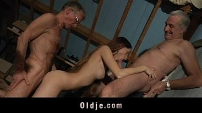 3some blowjob cock sucking doggy