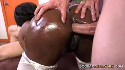 ass  doggy  drilling  ebony