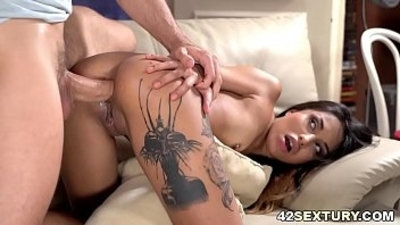 anal  ass worship  big cock  brunette